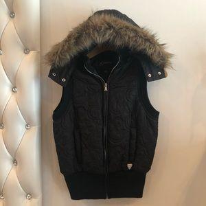 Black buffer jacket